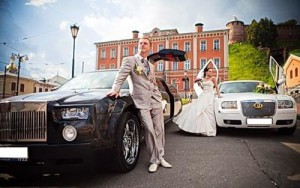 Заказать свадебный лимузин