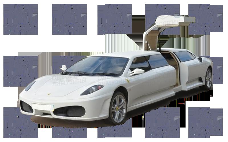 limuzin-Ferrari-2000-(replika-Peugeot-406)-white